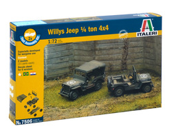 US Willys Jeep (2x) Quick build