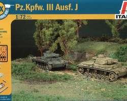 German Panzer III Ausf J tanks (2x) Quick build