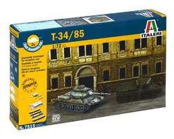 Soviet T34/85 tanks (2x) Quick build