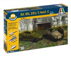 German SdKfz 251/1 Ausf C halftracks (2x) Quick build