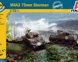 US Sherman M4A3 75mm tanks (2x) Quick build