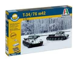 Soviet T34/76 tank 1942 (2x) Quick build