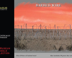 Barbed wire 29 feet long!