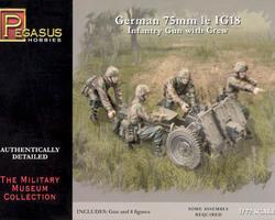 German IG18 75mm gun