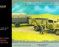 German army trucks (2x) Quick build