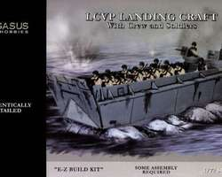 US LCVP landing craft