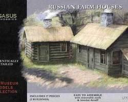 Russian farm houses set1