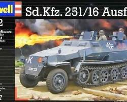 German SdKfz 251/16 Ausf C Flamm