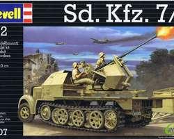 German SdKfz 7/2 Flak