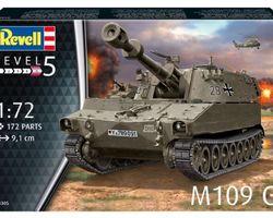 German M109G 155mm SPG