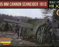 French 105mm Cannon Schneider 1913