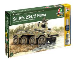 German SdKfz 234/2 Puma armoured car