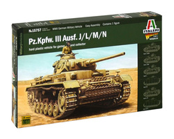 German Panzer III tank