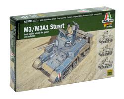 US M3 / M3A1 Stuart tank