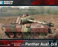 German Panther tank Ausf A/D