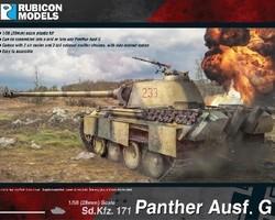 German Panther tank Ausf G