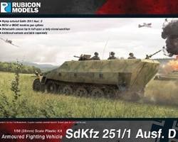 German SdKfz 251/1 Ausf D halftrack