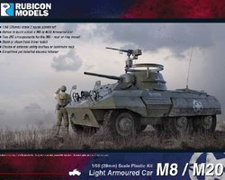 US M8 / M20 armoured car