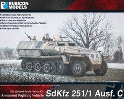 German SdKfz 251/1 Ausf C halftracks