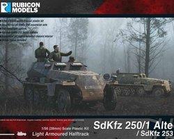 German SdKfz 250/1 Alte