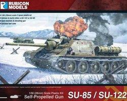 Soviet SU85 / SU122 SPG