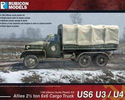 US Cargo truck 6x6 2,5 ton U3/U4