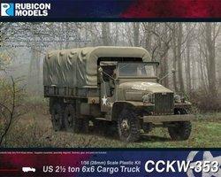 US CCKW 353 6x6 cargo truck