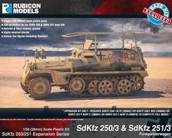 German Expansion set for SdKfz 250 and 251/3