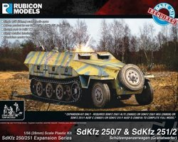 German Expansion set for SdKfz 250/7 and 251/2