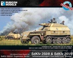 German Expansion set for SdKfz 250/8 and 251/9 Stummel