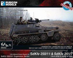 German Expansion set for SdKfz 250/11 and 251/7