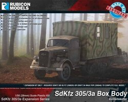 German Expansion set for SdKfz 305 or 3a
