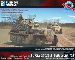 German Expansion set for SdKfz 250/9 and 251/23