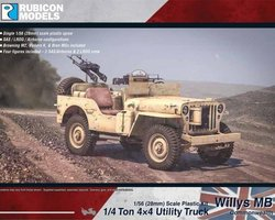British Willys MB Jeep