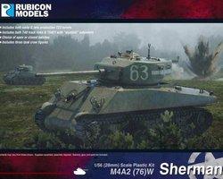 US Sherman M4A2 (76) W tank