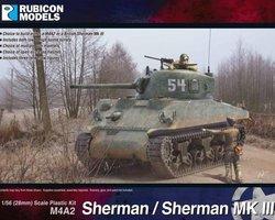 US Sherman M4A2 / Sherman MK III tank